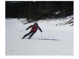 Esquiando tras 19 operaciones en los pies y con la ayuda de las clases de Vero en Karoon Pilates